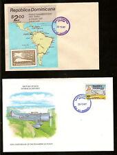 Dominican Rep. 1987 - PAN-AM GOODWILL FLIGHT  #1018-19