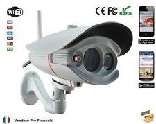 Camera Bullet IP IR infra-rouge Wifi Extérieur lentille 6mm  LED LDR sans fil