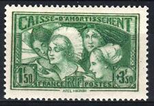 """FRANCE STAMP TIMBRE 269 """" C.A.  LES COIFFES DES PROVINCES 1931"""" NEUF xx TTB M390"""