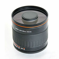 500mm f/6.3 Mirror Lens for Canon 650D 600D 550D 7D 5D Mark II III T3 T4i 1100D