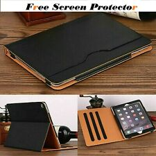 "Magnetic Leather Stand Case Cover For iPad Air 1,2& 9.7""2017/2018"