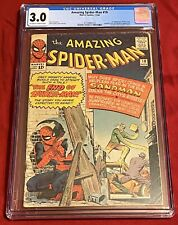 Amazing Spider-Man #18 CGC 3.0 1st Appearance of Ned Leeds Marvel 1964