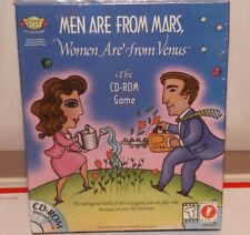 (NEW SEALED) MEN ARE FROM MARS WOMEN ARE FROM VENUS CD ROM PC GAME COUPLE FUN