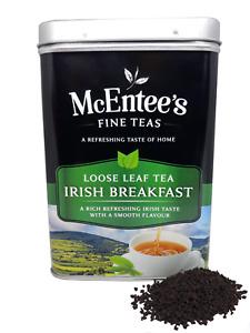 McEntee's Irish Breakfast Tea - 500g Tin - Expertly Blended in Ireland.