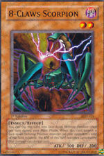 3x 8-Claws Scorpion - PGD-024 - Common - 1st Edition PGD - Pharaonic Guardian Yu