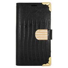 Custodie portafogli nero per Samsung Galaxy S6 edge