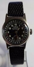 VINTAGE ORIS POINTER CALENDER SUB-SECOND MANUEL WIND CASE 17 JEWELS CIRCA 1950s