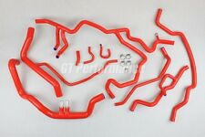 Kit durites EAU silicone Megane 3 III RS 250 265 275 Renault Sport durite Rouge