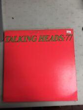 TALKING HEADS:77 VINYL RECORD