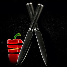 """5"""" Inch Filleting Knife Damascus Steel Slicing Fruit Utility Cook Fish Pilling"""