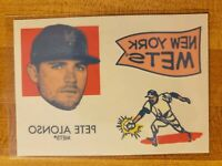2020 Topps Heritage Insert SP Tattoos Pete Alonso #11 New York Mets Tattoo