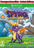 Spyro Reignited Trilogy 3 Giochi Xbox One DIGITAL NO KEY/CD LEGGI DESCRIZIONE