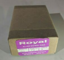 "Pack of 100 - 1/4"" x 2"" Royal Dowel Pins Alloy Steel"