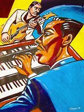 JIMMY McGRIFF PRINT poster hammond b-3 organ kenny burrell birth of cool funk cd
