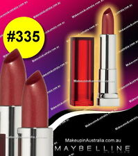 BRAND NEW Maybelline Color Sensational Lipcolour Lipstick Get Nutty 335