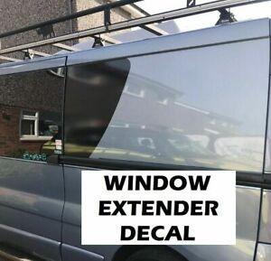 (No.836) Window Extenders Extension Stickers Camper Van Graphics Motorhome Decal