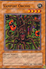 3x Vampire Orchis - MFC-014 - Common - 1st Edition MFC - Magician's Force YuGiOh