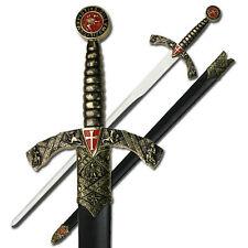 """NEW 42"""" Christian Crusader Knight's Templar Medieval Long Sword"""