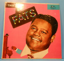 FATS DOMINO THIS IS FATS VINYL  LP MONO 1957 NICE CONDITION! VG/VG+!!A