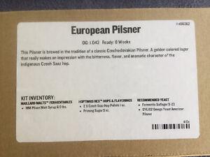 Midwest Supplies European Pilsner Beer Recipe Kit