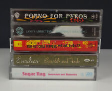 Lot 5 Cassette Tapes - Janes Addiction-Red Hot Chili Peppers-Sugar Ray-Everclear