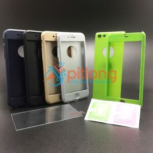 IPHONE 6 6S 360 FULL COVER CASE -- FREE TEMPERED GLASS