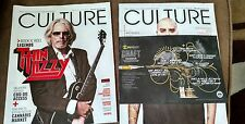 2 preowned culture cannabis magazines