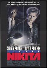 LITTLE NIKITA Movie POSTER 27x40 River Phoenix Sidney Poitier Richard Bradford