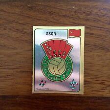 Panini World Cup Italia 90 SSSR Badge Number 133 Whith Original Back