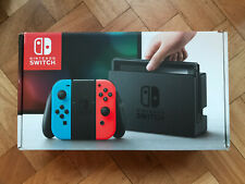 Nintendo Switch Console - Neon (Blue and Red) with 2 games