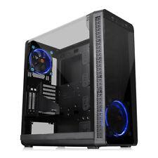 Thermaltake View 37 Riing Mid Tower PC Case, E-ATX/ATX/MicroATX/Mini-ITX, Gull-W