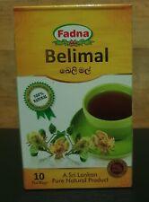 Ceylon tea Fadna Belimal Herbal Tea by - 100% Natural  10 Tea bags