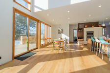 "6"" Brushed French White Oak Lager Engineered Floating Wood Flooring Plank Sample"