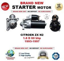 Per Citroen ZX N2 1.8 D 60 BHP 1993-1997 Motore di Avviamento Nuovo di Zecca 1.8 KW 11-Denti