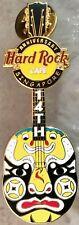 Hard Rock Cafe SINGAPORE 2004 14th Anniversary PIN Mask GUITAR - HRC #22428