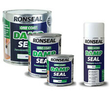 Ronseal One Coat Damp Seal White 750ml OR 250ml paint OR 400ml spray to choose