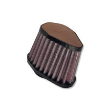 DNA Hex. Dark Brown Leather Top Air Filter, Inl: 54mm, Len:86mm, PN: V-5400-L-DB