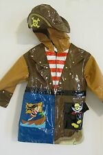 NEW WITH TAGS BOY'S KIDORABLE RAIN COAT PIRATE JACKET SIZE 5/6