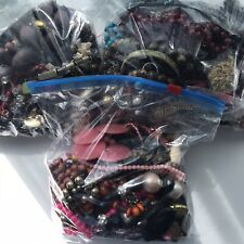 1KG Job Lot Costume Jewellery Mixed Bundle Upcycle Resell Craft Fancy Dress Up