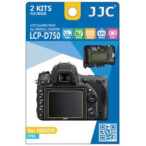 JJC LCP-D750 LCD Film Camera Screen Display Protector for NIKON D750 Guard Film