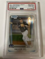 2011 Bowman Draft Prospects Chrome Trevor Story BDPP84 Rookie RC PSA 10 GEM
