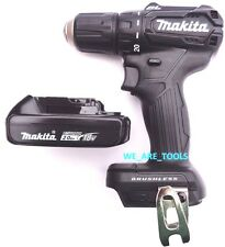 """New Makita 18V XFD11 Brushless 1/2"""" Drill Driver, (1) BL1820 Battery Compact"""