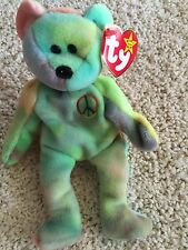PEACE - Beanie Baby-hard to find-In Excellent Condition-One of a kind