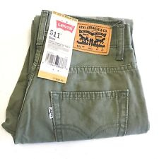 Levi Strauss & Co. Women's Pants Levi's 511 Sz 14 R 27x27 Slim Green