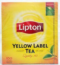 100 ORIGINAL LIPTON YELLOW LABEL TEE BEUTEL  QUALITY N 1 AUS ENGLAND