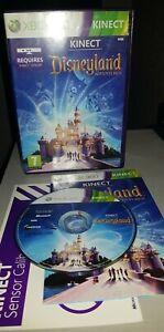 Xbox 360 Game Microsoft . kinect Disneyland adventures . Kinect