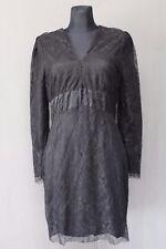 by MALENE BIRGER Damen Kleid Gr. 40 Dress Spitze Schwarz Top 10-