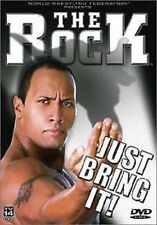WWF The Rock - Just Bring It DVD, WWE WCW Wrestling