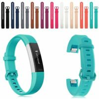 Replacement Silicone Classic Strap Bracelet Band For Fitbit Alta HR Wristband AU