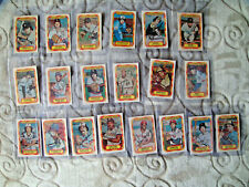 1977 3D Kellogg's baseball card lot odd rare mostly near mint Winfield Munson